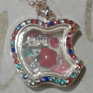 Jewelry - NEW School/Teacher Memory Locket Necklace
